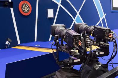 Robotic cams at PDC Darts