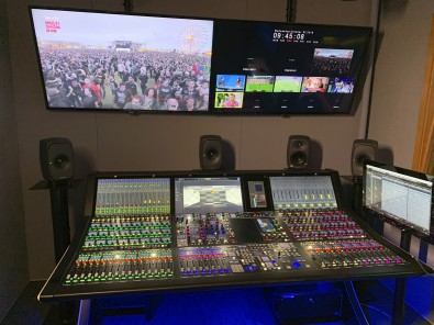 The immersive Dolby Atmos audio mix was produced at Globosat's HQ using a Lawo mc²96 production console.