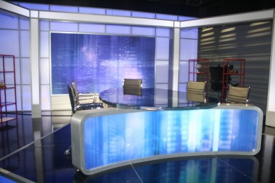 "The school's new 4K studio features a full sized set once used by The Nightly Show with Larry Wilmore"" show on Comedy Central."