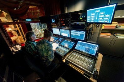 The SSL System T provides the flexibility to handle the 20 premiere productions staged during the year, all produced by theatre staff with different configurations.