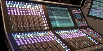 At Canal Factory the SSL L500 console is used for a wide variety of music pre-mixes.