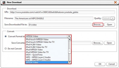 YouTube supports MOV, MP4 (MPEG4), AVI, WMV, FLV, 3GP, MPEGPS and WebM.