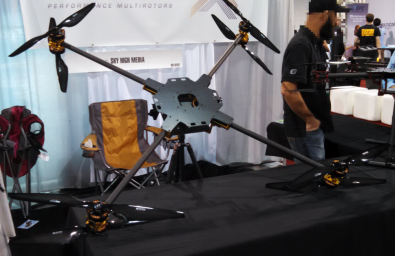 Sky High UAV platform  is capable of payloads of more than 75 lbs.<br /><br />
