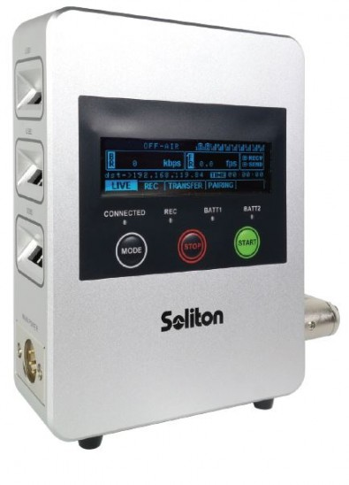 The Soliton Zow features H.265 hardware encoding.