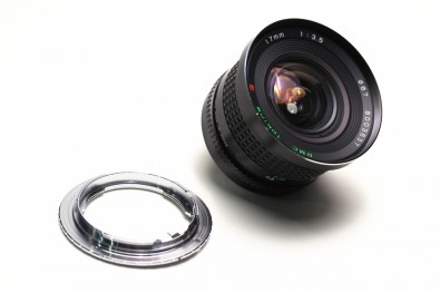 Some lens ranges are less useful. This Tokina 17mm lens is a useful wide-angle option, but one of only a few primes in the RMC range.