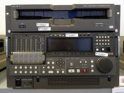 D-2 is a professional digital videocassette format created by Ampex and introduced at the 1988 NAB convention as a composite video alternative to the component video D-1 format. Like D-1, D-2 stored uncompressed digital video on a tape cassette; however, it stored a composite video signal, rather than component video as with D-1. Shown is a D-2 Sony DVR-28. Image courtesy CTV.