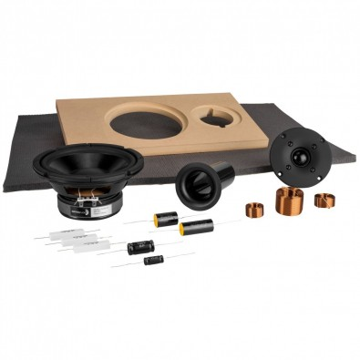 While loudspeaker systems can be DIY, the individual component speakers are not. Image: Parts Express.
