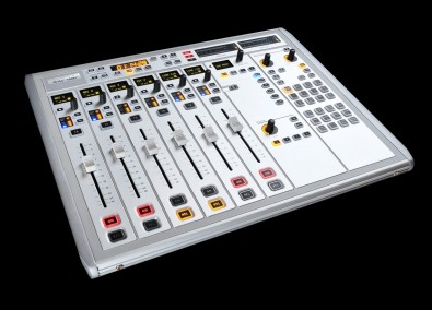 The Studer OnAir 1500 console offers a small footprint, variety of features, flexibility and everything plugs in with a single RJ45 connector.