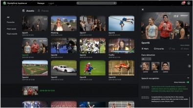 AI algorithms and clever cloud implementation give TVU MediaMind users the power to find the right clips instantly.