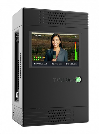 TVU One Mobile IP Transmitter