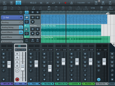 Cubase app for Tascam iXR