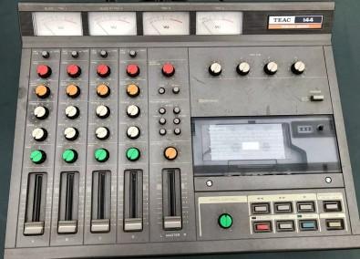 Teac Portastudio 144, the cassette-based 4-track recorder Bruce Springsteen used 1982 to make Nebraska.