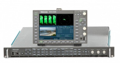 Tektronix WFM/WVR8000 series of monitors is equipped with quad 3G-SDI inputs and can handle 4K data rates, which support 4K/UHDTV1 formats.