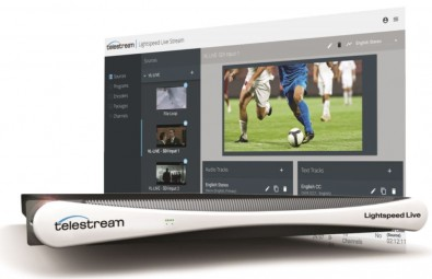 Telestream integrated its caption insertion capability into its Lightspeed Live Stream.