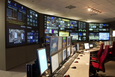 The Master Control Room at Astro