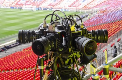 Tiledmedia's on-field VR camera rigs include up to six 8K cameras capturing a 360-degree experience during a live broadcast.