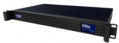 The Torque Video Systems' DVMon 10G offers a 10Gb interface option with fiber connectivity.