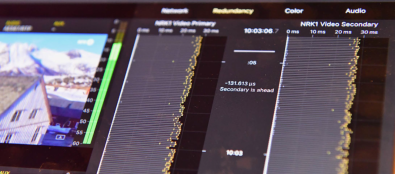 The new Sencore VB440 40G SMPTE 2110 Analyzer uses BridgeTechnologies' VB440.