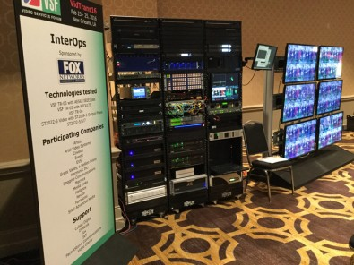 "In addition to IBC, The Video Services Forum has hosted periodic ""InterOp"" demonstrations with participation from a growing number of vendors."