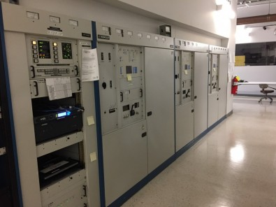 The test lab is using an existing Comark (Thomson Broadcast) transmitter at an ARP of approximately 30 kW.