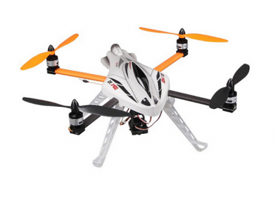 The Walkera QR X400 relies on a 6-axis gyro, which is common to larger helicopters.