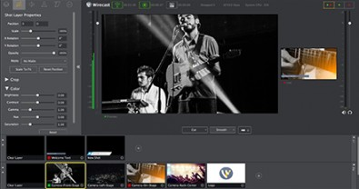 From ingest of live sources to an encoded live stream, Wirecast Gear handles all Web streaming activities.