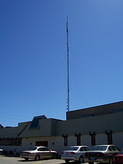 WJW's transmission antenna is located in suburban Parma, Ohio.