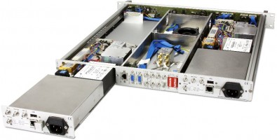 A new block converter features hot-swappable modules.