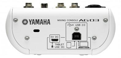 AG03 rear panel