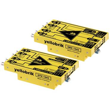 Yellobrik 4K fiber solutions ease the transition into UHD production.