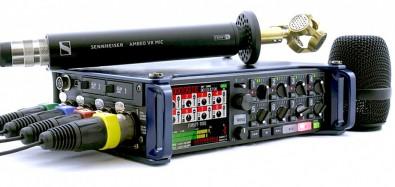 Zoom F8 recorder.