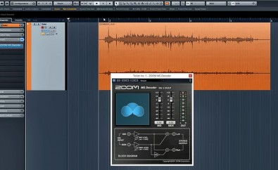 Zoom M/S Decoding Plug-in for a DAW