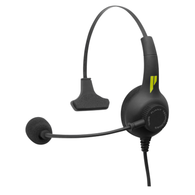 SmartBoom PRO headsets, offered in both single and dual-ear variations, are available in terminations for almost any application and provide high ambient noise reduction and high-quality, clear audio.