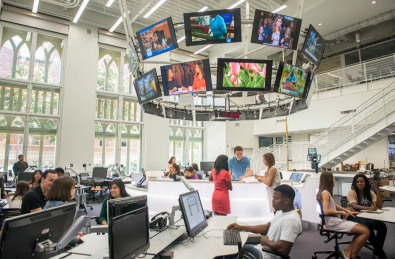 Faculty members utilize Xchange to assign projects and deliver media to their courses. Students can then browse and download media to create news packages.