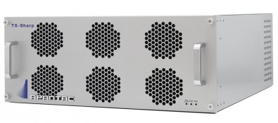 The TX# is a modular Multiviewer with 64x64 router outputs, the first of its kind available to the market.