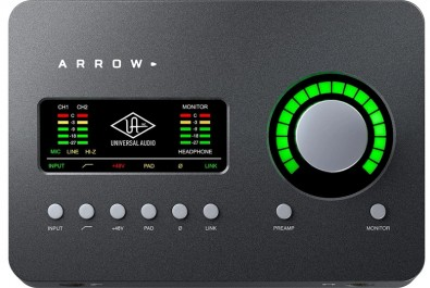 Universal Audio Arrow two-channel computer interface