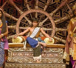 Promotional image for the program, Applause! It's a century for Chakravartin Ashoka Samrat.