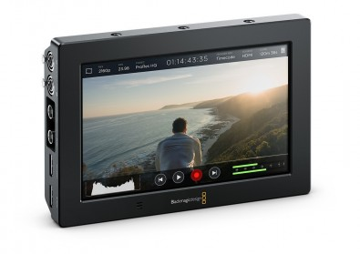 The Blackmagic Video Assist is one of a number of recorder-monitors that can be used with video and DSLR cameras.