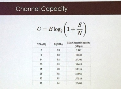 One NAB Show technical session explained how ATSC 3.0 bandwidth diminishes as signal strength decreases.