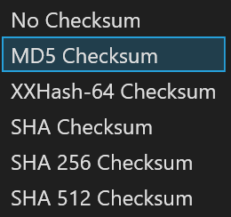 The MD5 checksum for a file is a 128-bit value, something like a fingerprint of the file.  While there is a small possibility of getting two identical checksums of two different files, the feature is useful both for comparing the files and their integrity control.