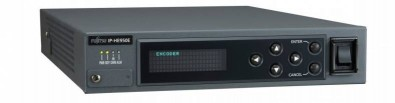The FOR-A (Fujitsu) IP-HE950 real-time H.265/HEVC encoder uses H.265/HEVC technology, which can provide a two times compression ratio over H.264/AVC in a half rack size chassis.