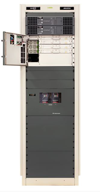 GatesAir showed the liquid-cooled Maxiva ULXT with PowerSmart 3D.