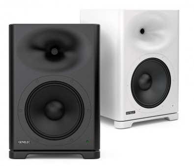 The Genelec s360 two-way loudspeaker can reproduce a high SPL for application like film rerecording and dubbing stages.