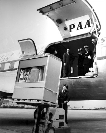 Storage has come a long way since IBM's first hard drive, which stored only 5MB. The 1956 drive consisted of a stack of fifty 24-inch discs and could be leased for $35,000 per year. That represents more than $308,000 in today's dollars. By 1985 a 40MB hard drive could be purchased for $40,000.