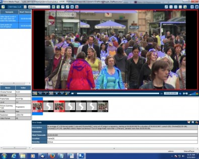 Baton Media Player (BMP) is an industry grade media player with options for SDI playout. The integrated browser based plug-in player works in sync with Baton for fast frame-accurate manual review of content.