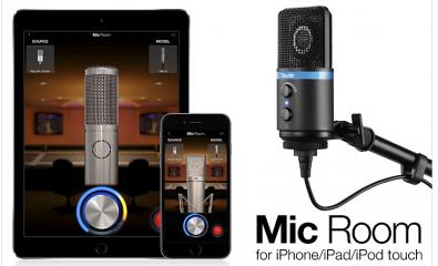 IK Multimedia iRing Mic Studio and Mic Room software