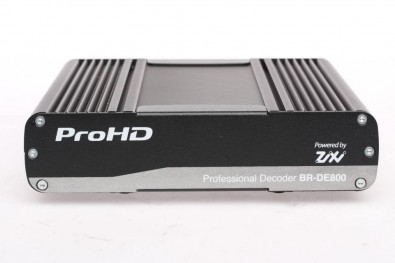 The new ProHD Decoder supports H.265 and H.264 compression standards with A/V connectivity for ENG field reports and other video-over-IP applications.<br />
