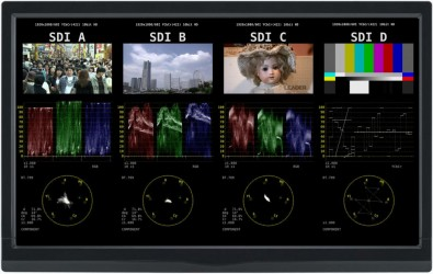 Leader introduced a software upgrade allowing the LV7390 rasterizer to be used in 4K/UHD production.