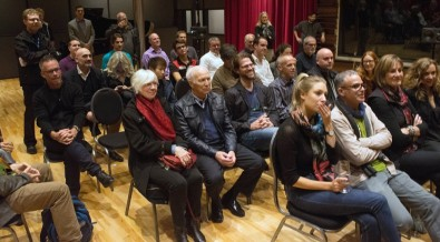 Audience for the recording