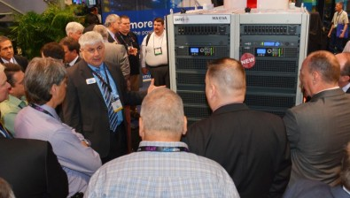 Exhibit visitors asked many questions about the FCC Repack and ATSC 3.0.